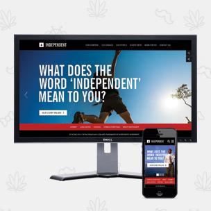 Independent Website Redesign