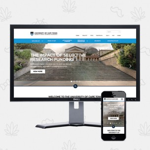 UCT Website Redesign